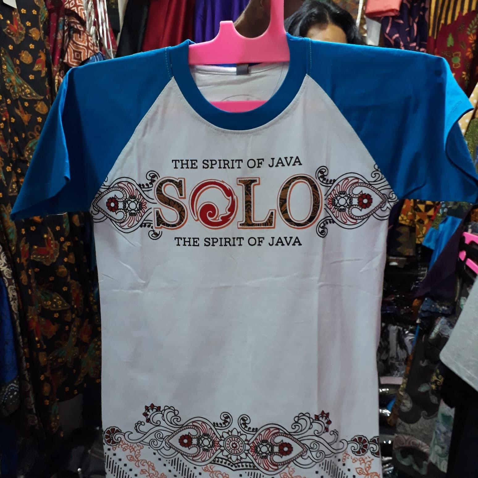 Kaos Batik Solo Kaos Oblong Motif Abstrak Solo - Batik Butik Murah 0c3e585795