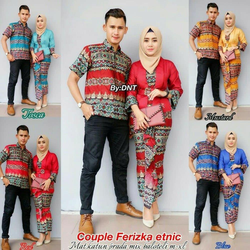 94 Desain Baju Batik Pria Wanita | Desaprojek