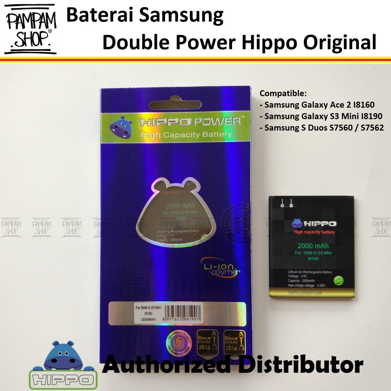 Baterai HIPPO Samsung Galaxy S3 Mini i8190 2000mAh Double Power. Source · 4843558_d1dc79e9-c6b9