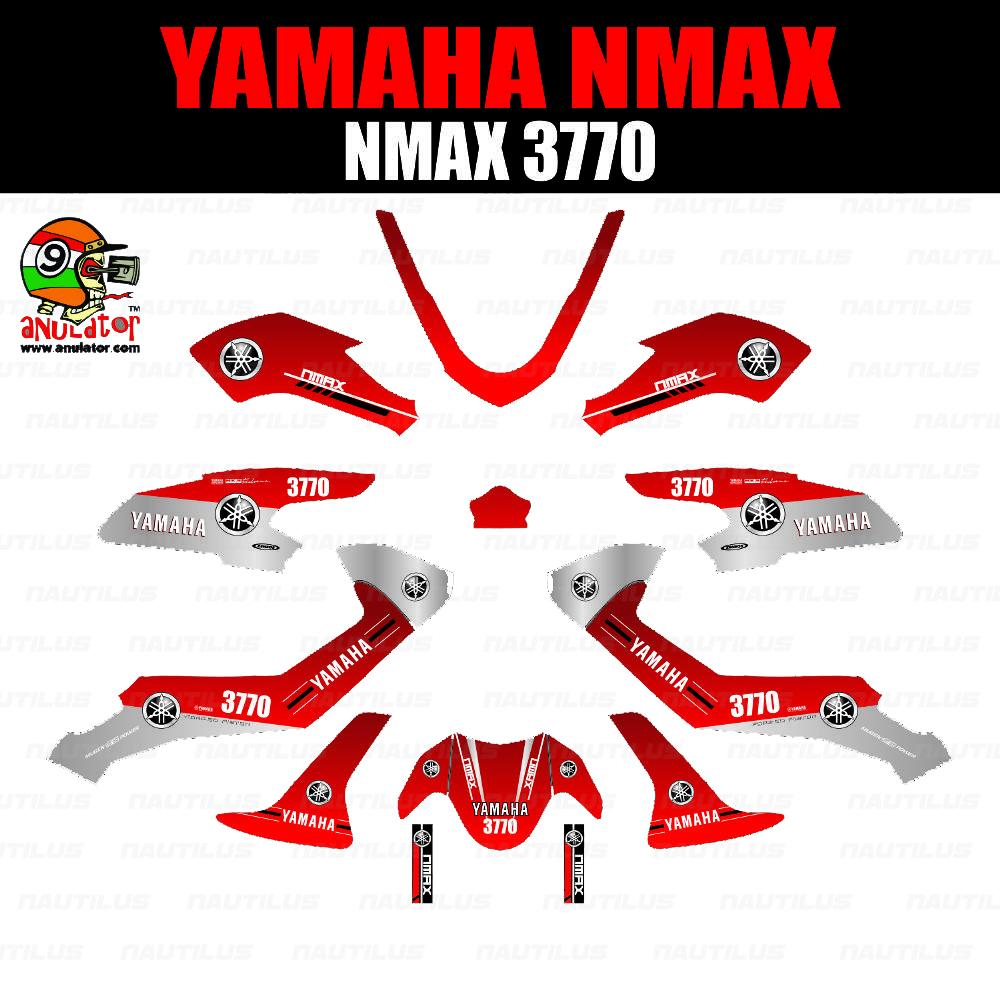 Penawaran sticker striping motor stiker yamaha n max nmax police nypd grade b
