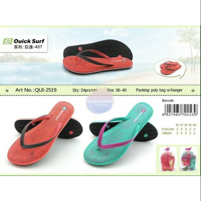 7f0debaeb4e MURAH Sandal Jepit Wanita QuickSurf Sendal Jepit Cewek Quick Surf 2519
