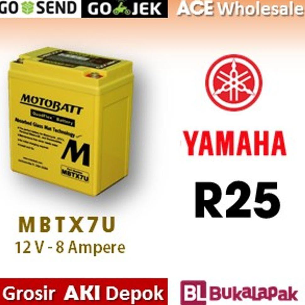 PENAWARAN Aki R 25 Yamaha MOTOBATT MBTX7U Gel kering motor 685 MOTOBAT accu 22fe93d8f5