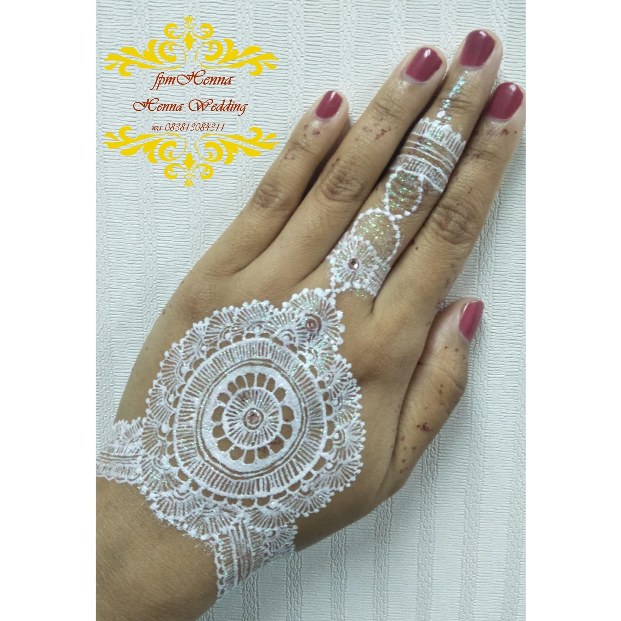 Jual White Henna Wedding Muraah Jasa Ukir White Henna Pengantin