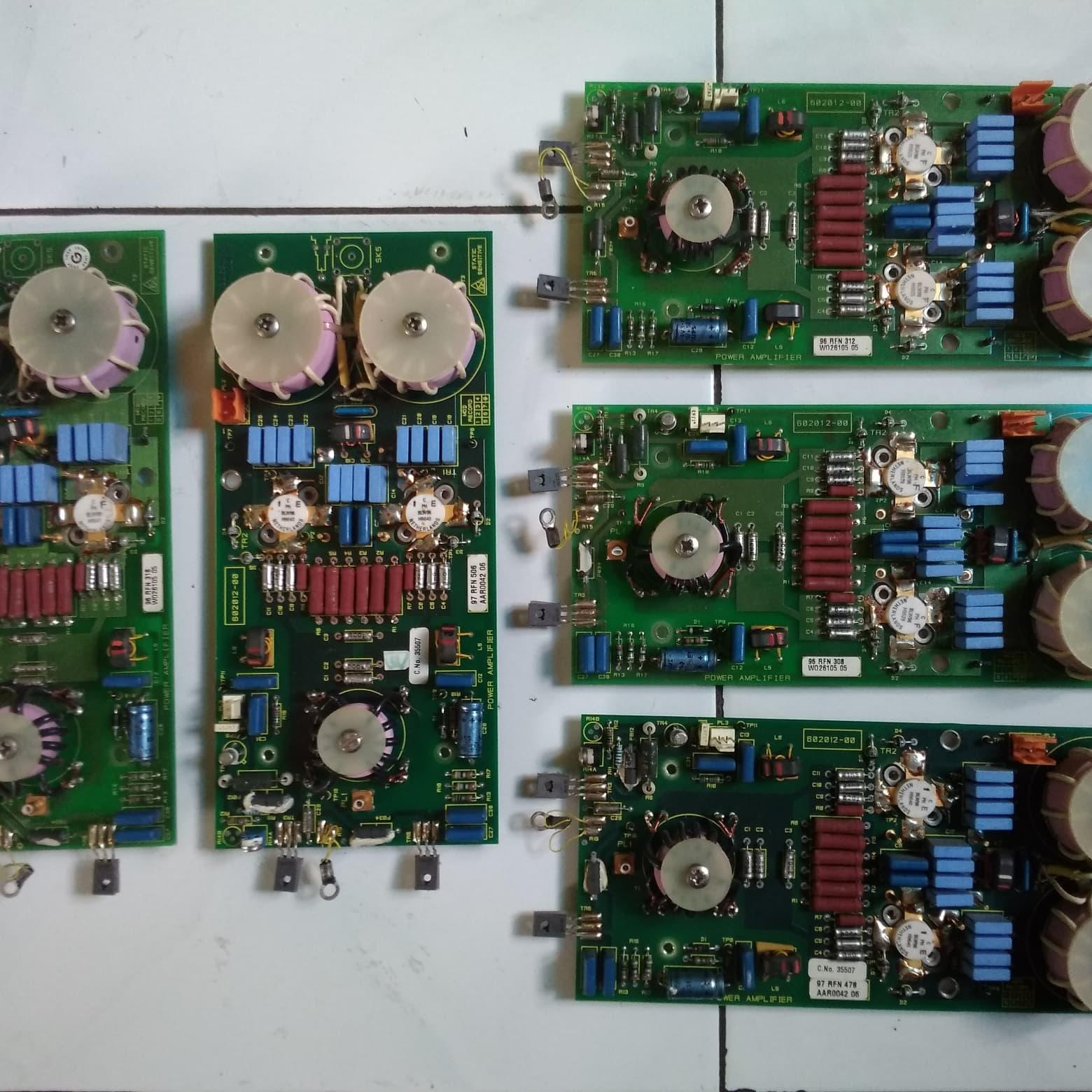 Jual HF-VHF RF POWER AMPLIFIER 500 WATT - Kab