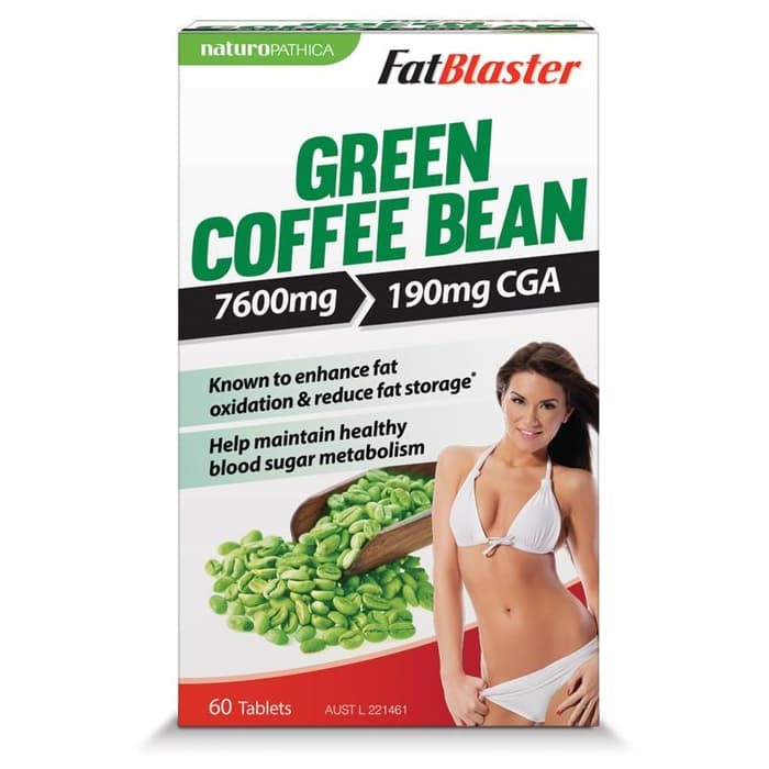 green coffee bean 60 tabs