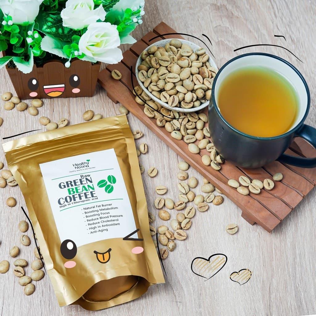 Jual Kopi Hijau Green Bean Coffee Natural Fat Burner Healthy Siap Minum Noona Tokopedia