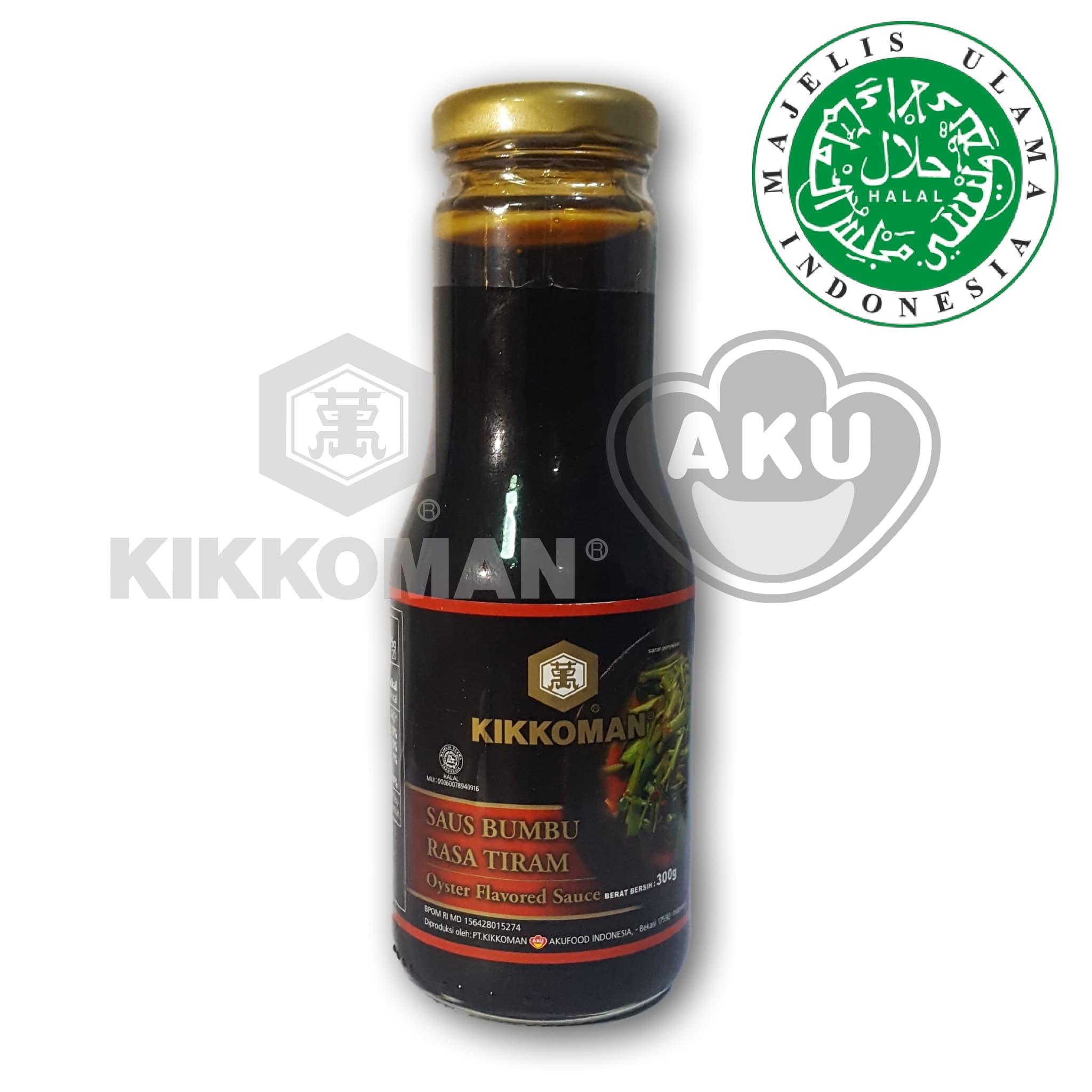 Kikkoman Oyster Flavour Sauce Kecap Saus Tiram Jerigen 22kg Daftar Saori Sachet 10 X 23ml Jual Premium Halal 300 Gr Akufood Tokopedia
