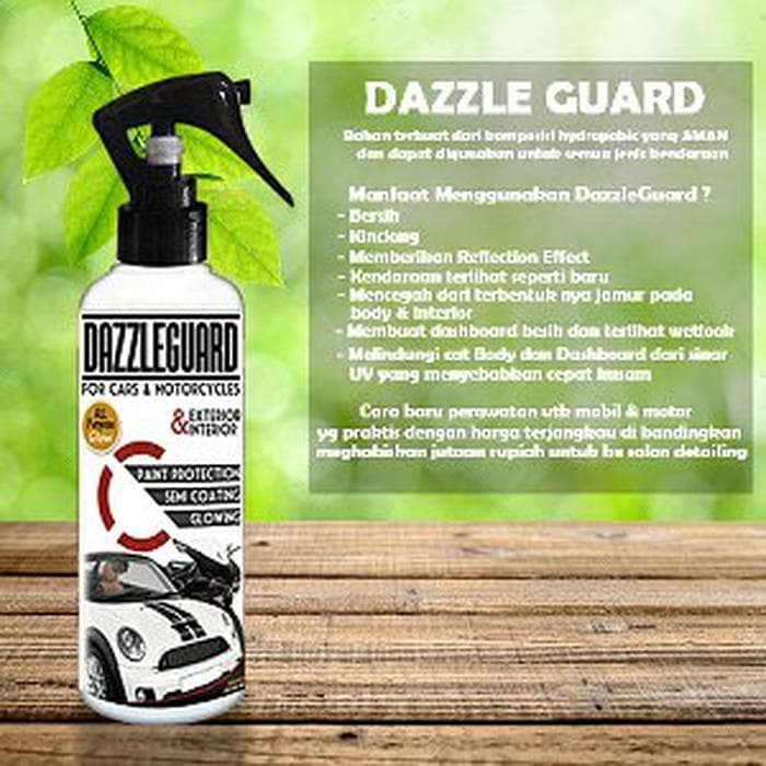 Dazzle Guard Pengkilap body dan Perawatan untuk mobil & motor