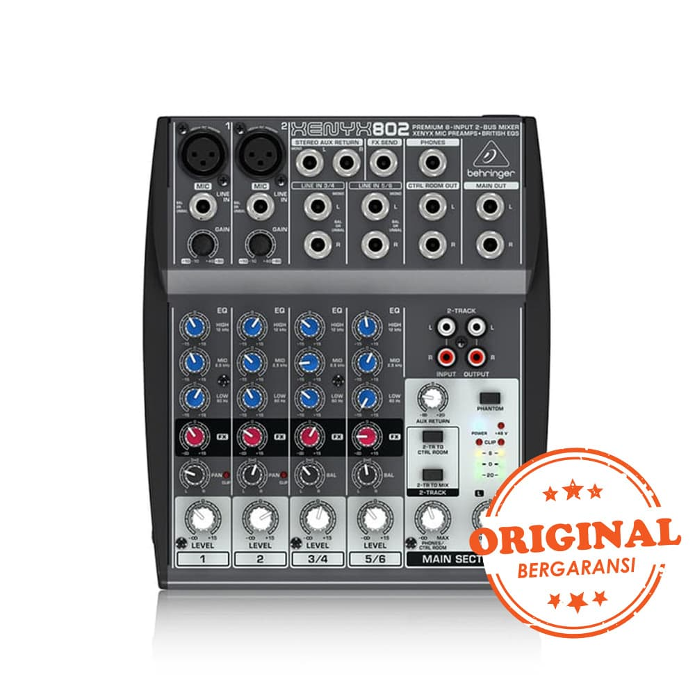 Behringer Xenyx 802 Audio Mixer