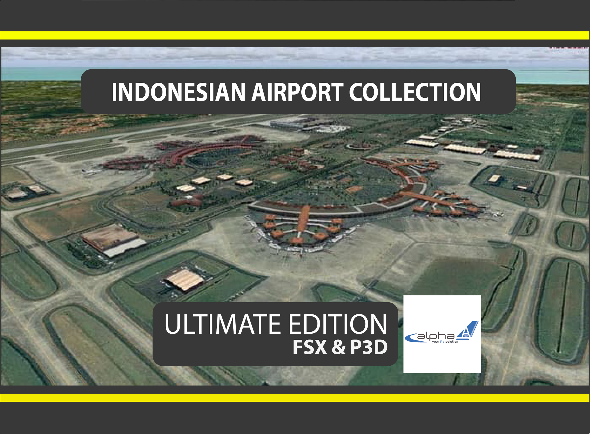 Jual Indonesian Airport Collection - FSX Addon/P3D Addon