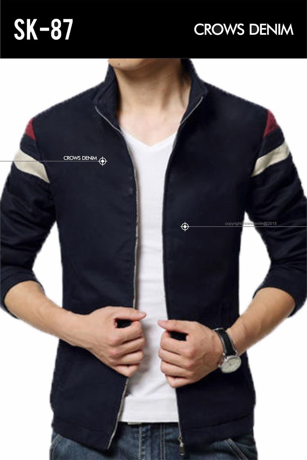 stylish sports jacket leaning - 700×916