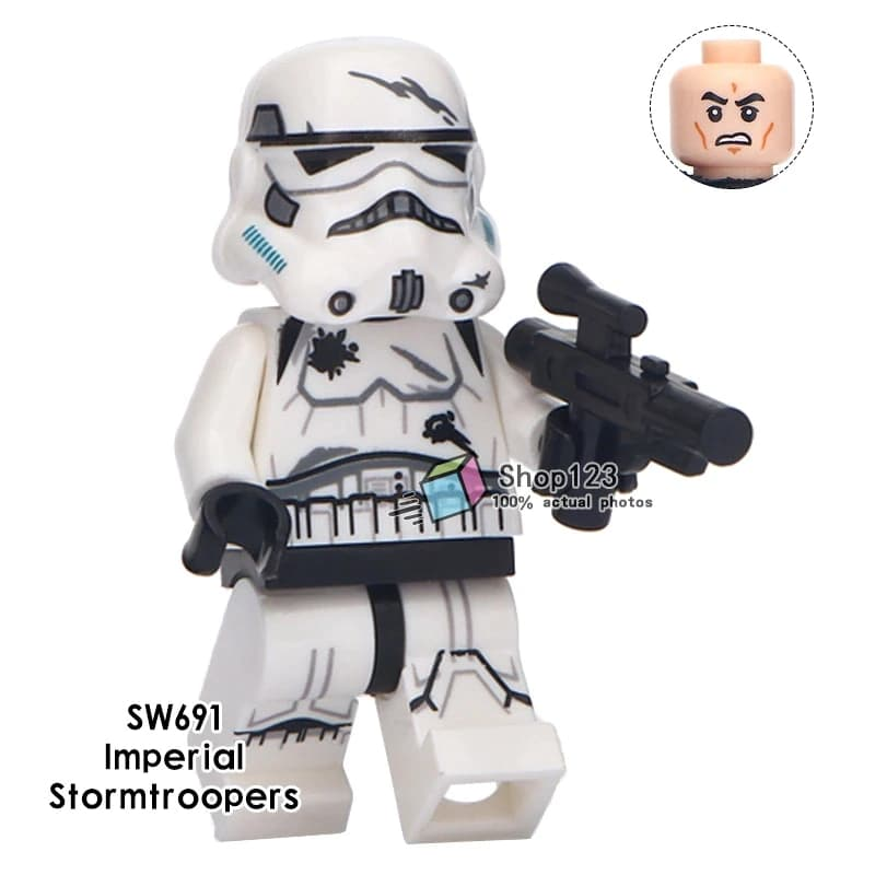 1x sw692 LEGO Minifigures Star Wars Omino Imperial Shock Stormtrooper
