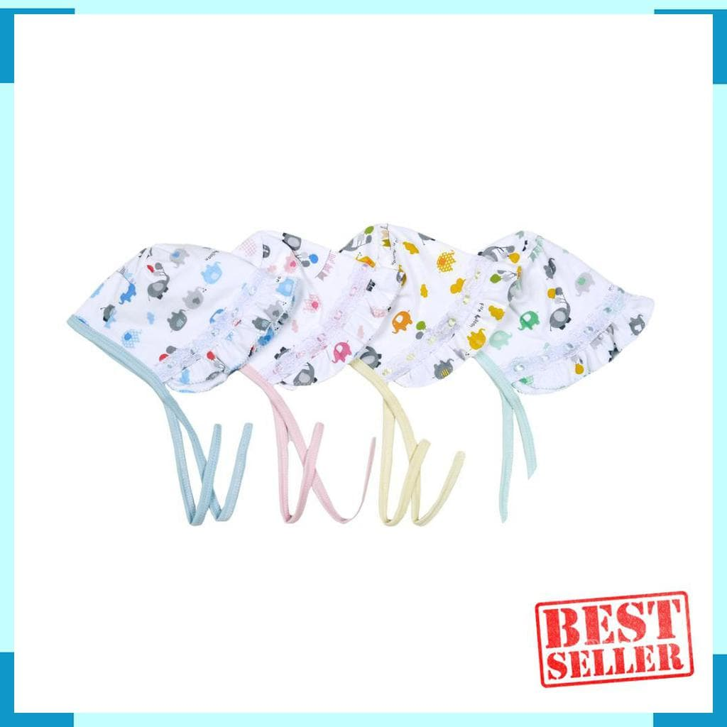 Jual Fluffy Babywear - Topi Missy Topi Newborn ( Isi 2 Pcs ) - I_Store One   Tokopedia