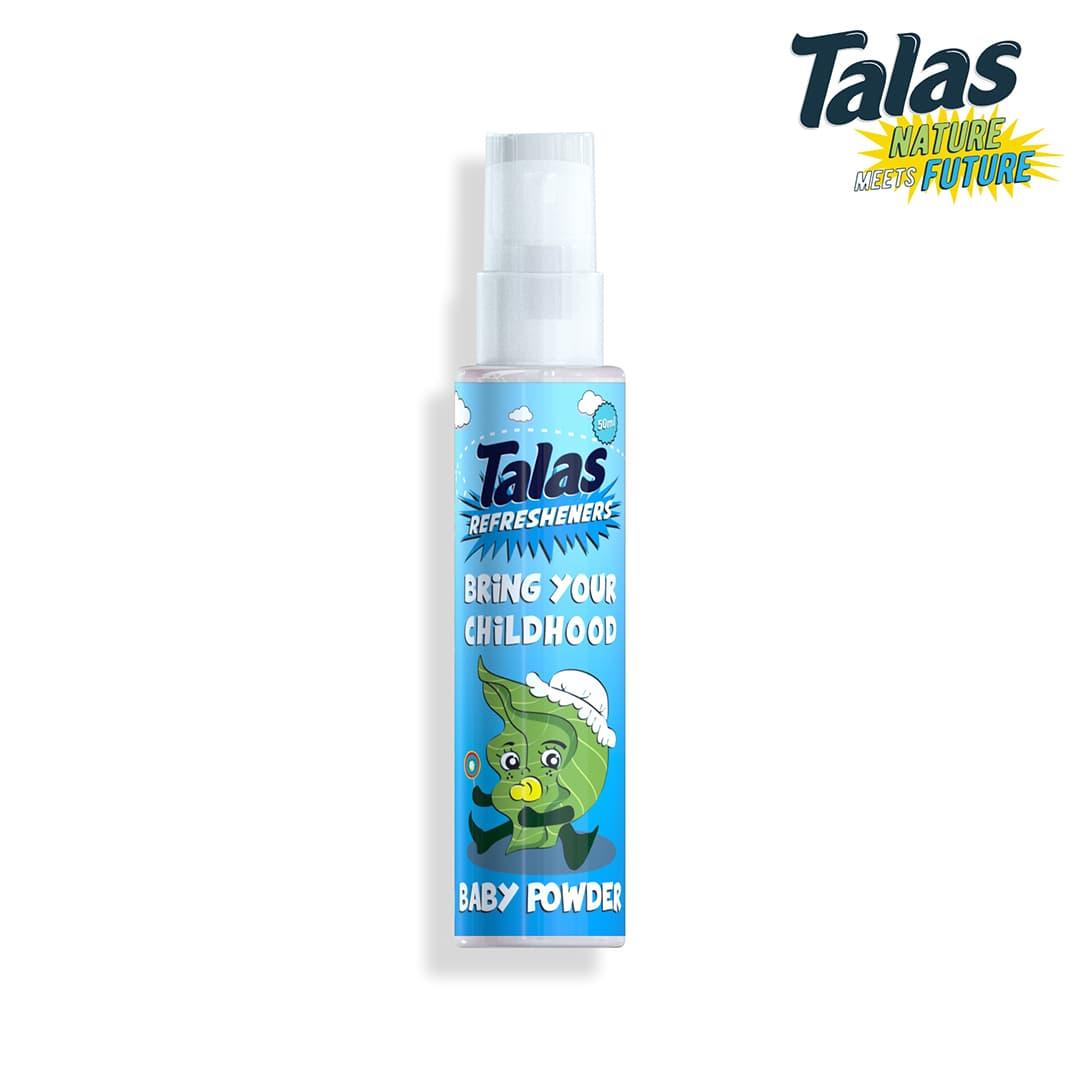 Talas Refreshener Pump Baby Powder (Pengharum) - Blanja.com