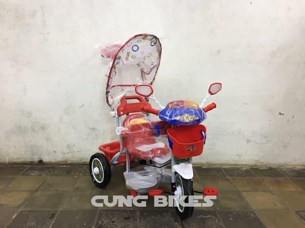 BELI Super Sale - Sepeda anak roda tiga Family type 7233 double musik f321f6bb7b