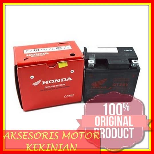 MURAH Motor Honda Accu Battery GTZ6V BeAT Sporty Scoopy Vario 3150 bd2459aa55