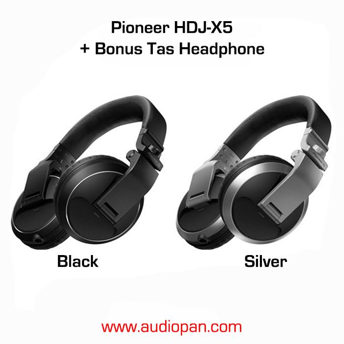 de2f00c28d4 Jual Pioneer HDJ-X5 / HDJX5 - Black - audiopan | Tokopedia