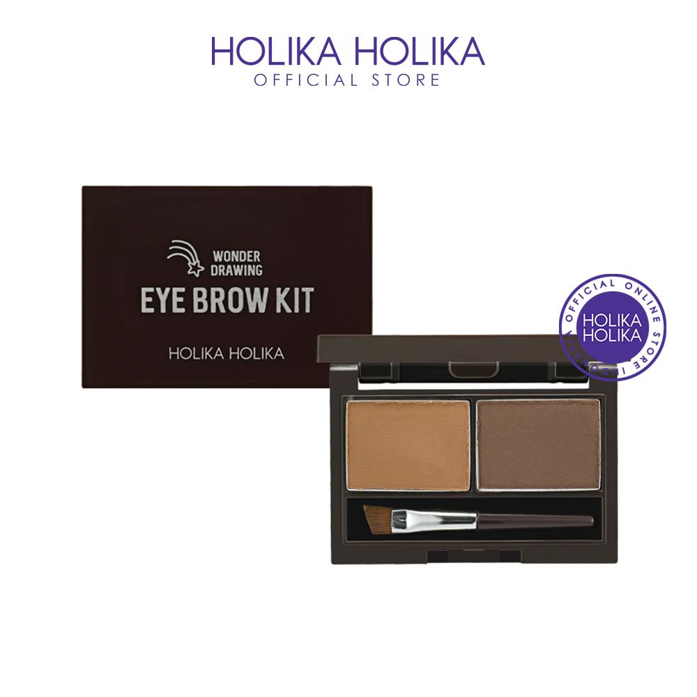 Holika Holika Wonder Drawing Eyebrow Kit AD (01 Choco Brown) thumbnail