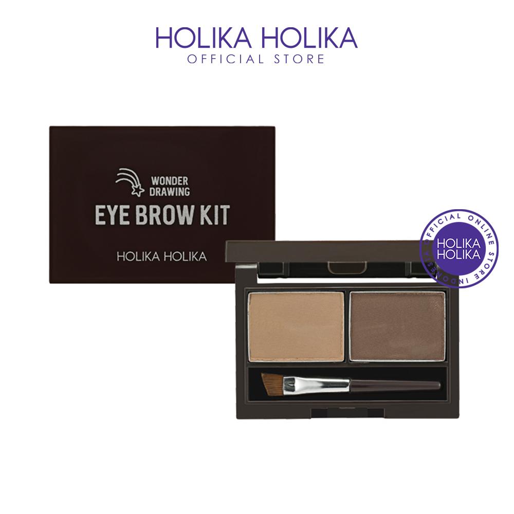 Holika Holika Wonder Drawing Eyebrow Kit AD (02 Ash Brown) thumbnail
