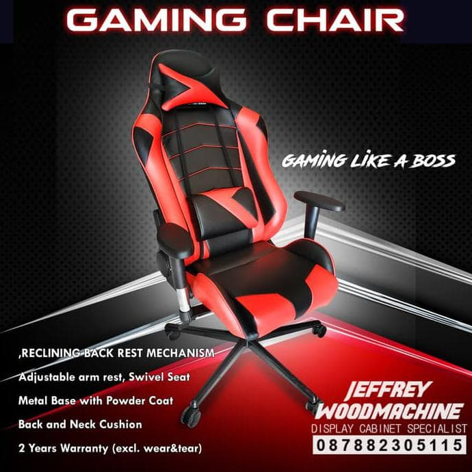 MURAH terlaris Gaming Chair JW not DX Racer marvo rexus pegasus cougar Kursi 7afdbe4c69