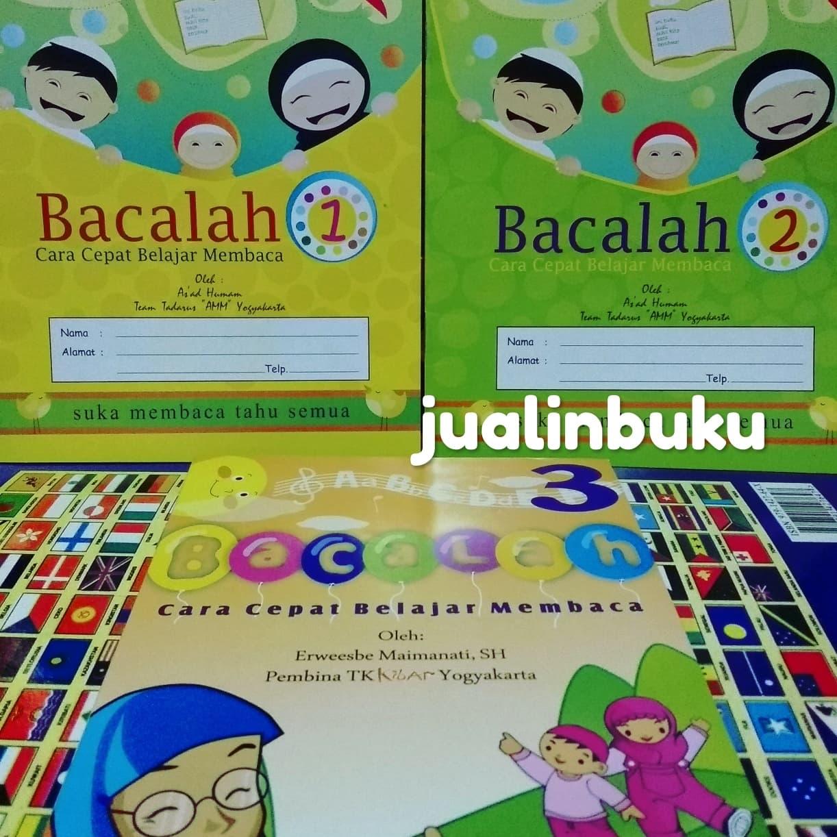 Belajar Membaca Jilid 1 - Yuk Kita Belajar