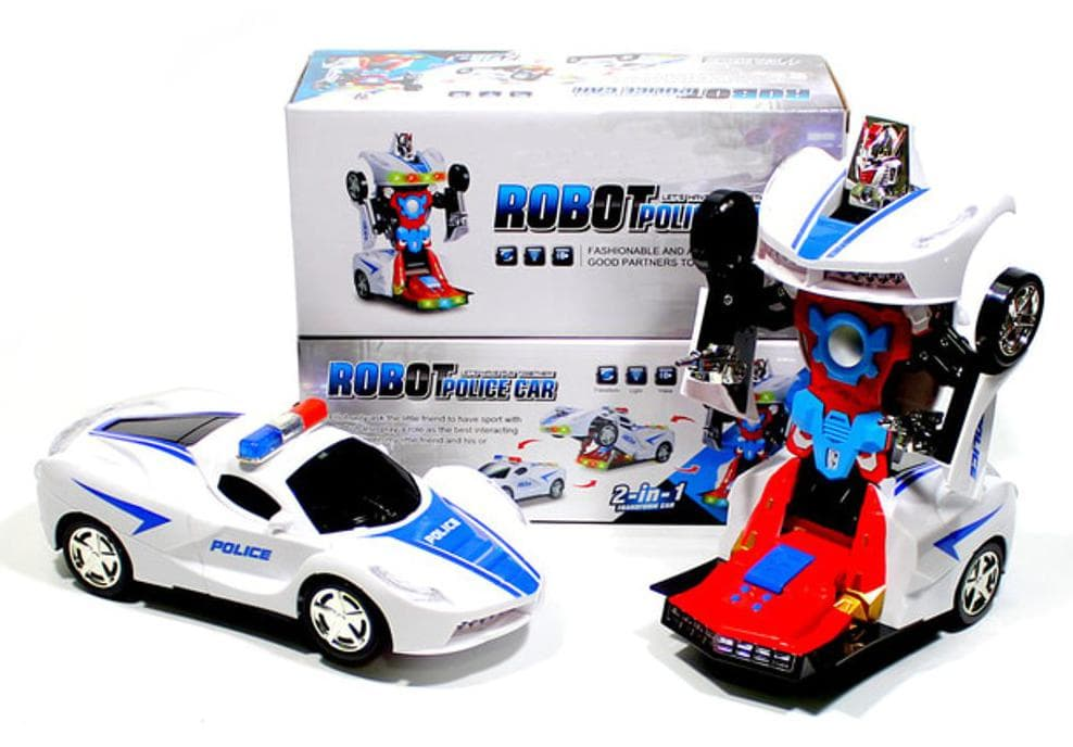 HEMAT jual ROBOT TRANSFORM POLISI MOBIL BERUBAH JADI ROBOT - KADO MAINAN 266f98859e