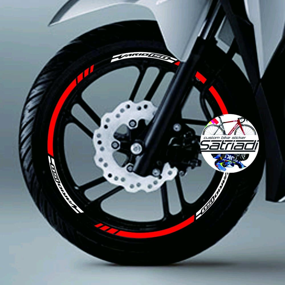 DISKON Stiker Velg Sticker Decal Motor Honda Vario 150 125 all new 2018 unt 662d94b65b