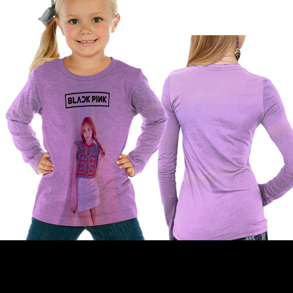 BELI Longslave Anak Lisa Blackpink Fullprint 3f51760b38