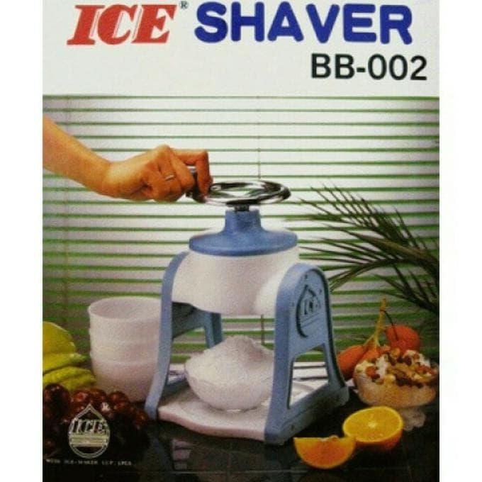 BELI Promo Alat Serutan Es Batu - Mesin Pembuat Es Serut Mini - Ice Shaver b0d1309bcd