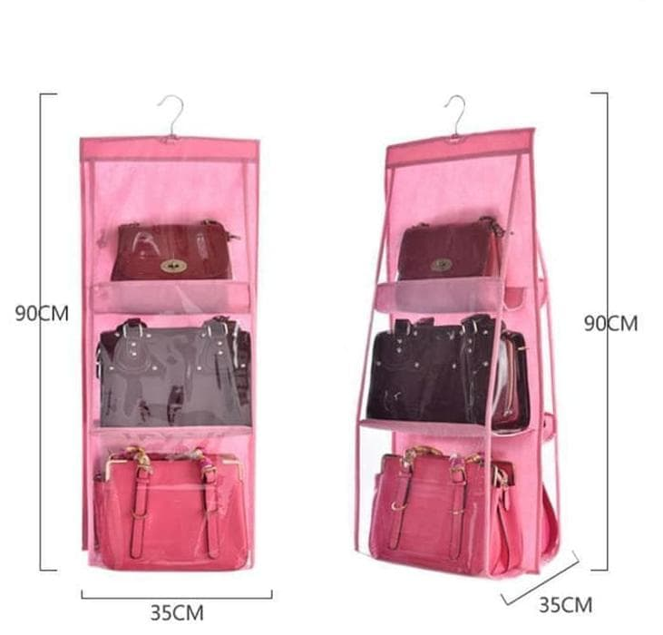 DISKON Unik Hanging Bag Organizer Bag dust cover gantung import F-0 Diskon f6d1e9b35b