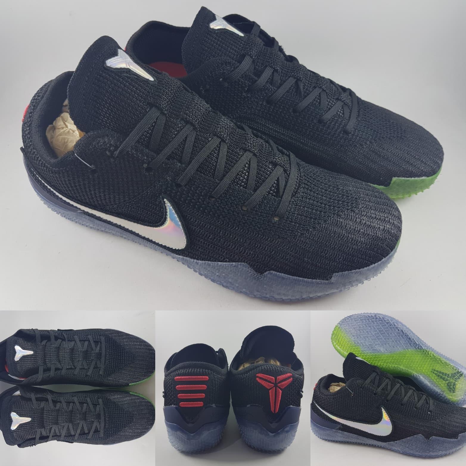 HEMAT Sepatu Basket Nike Kobe AD NXT 360 Mamba Day Black Green Hitam db7f25f4d8