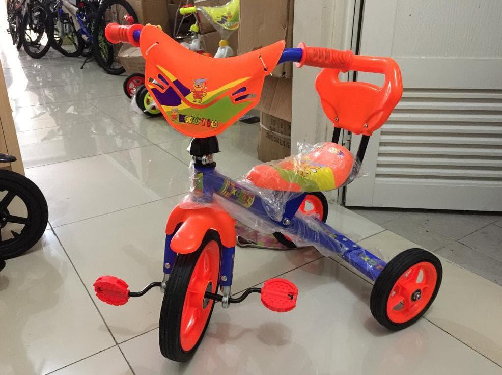 MURAH Sepeda Roda Tiga Exotic Senderan Warna Untuk Anak-Anak dbc4d42f11