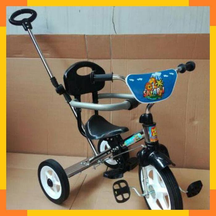 MURAH Sepeda BMX Roda Tiga Anak Tricycle Sandaran PMB BMX 921 CHROME a922b6eb3c