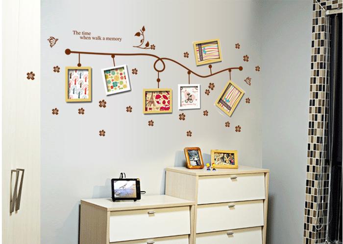 jual wallsticker wall stiker wallpaper dinding tembok frame foto