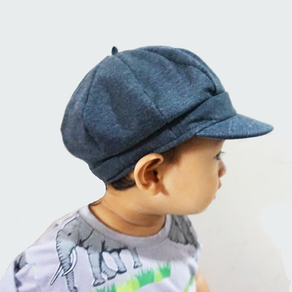 4329f02b Jual Meet The Kids - Grey Apollo Cap - Topi Apollo Anak - Abu-abu ...