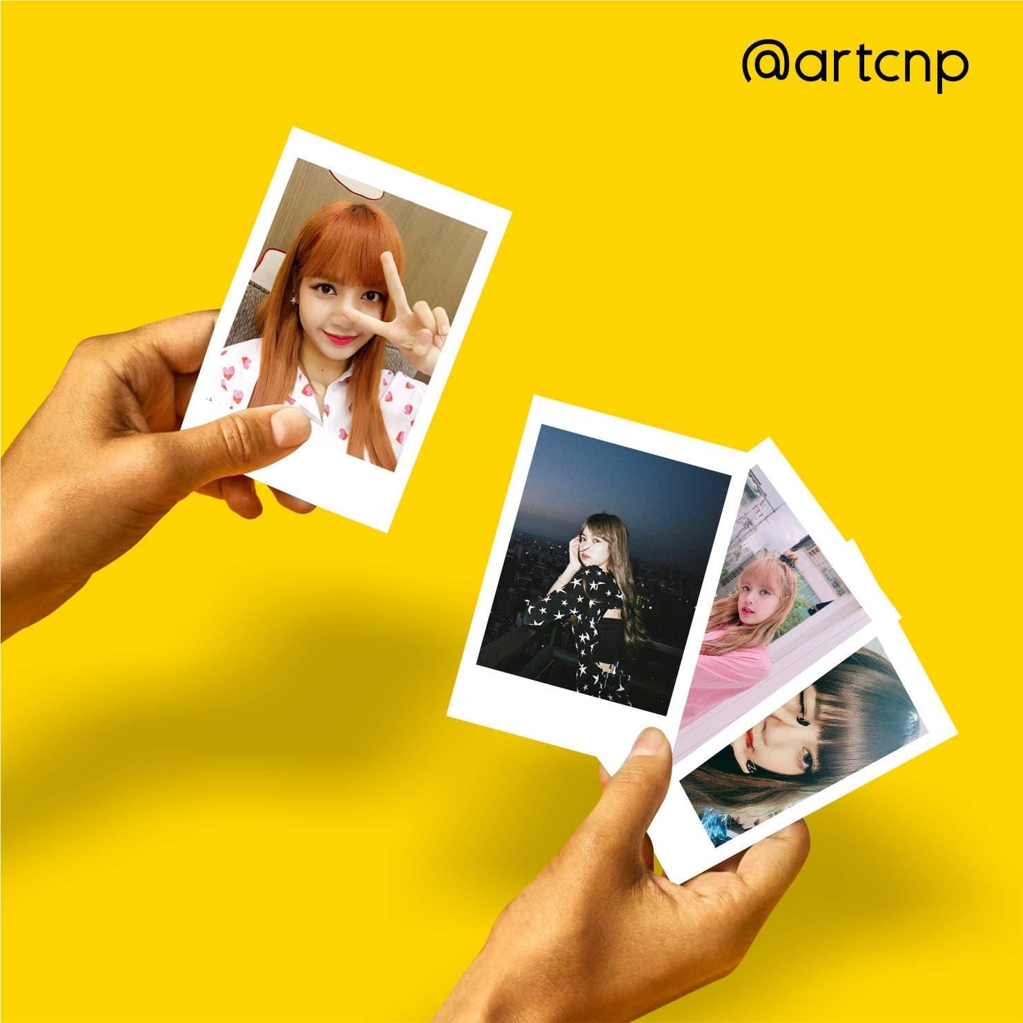 HEMAT Promo Polaroid Photo Lisa Blackpink hanya 20 rb dapat 25pcs f626c8daf9