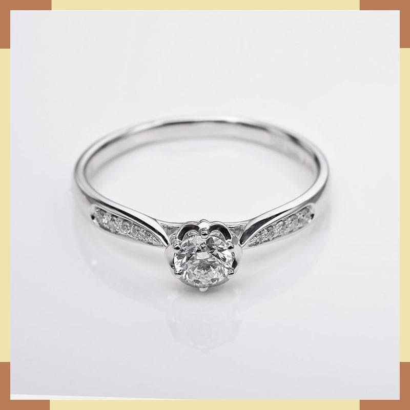MURAH Cincin Tunangan DHTXDFJ049 Perhiasan cincin emas berlian d5766c01e0