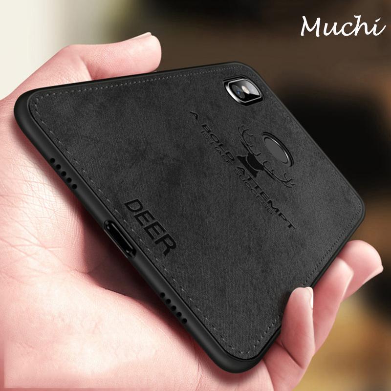 the latest eadb2 c31e5 Jual Muchi Classic Fabric Case For Xiaomi Redmi Note 6 Pro Cases ...