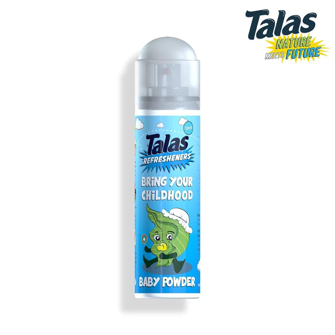 Refreshener Aerosol Baby Powder (Pengharum) - Blanja.com