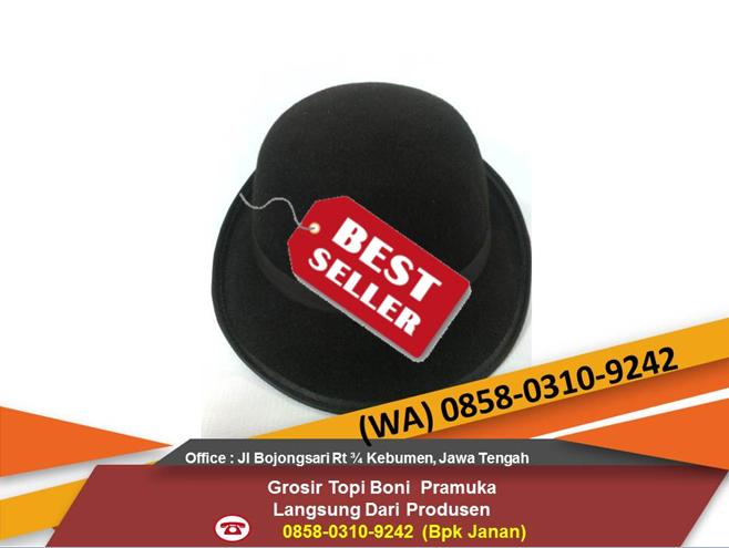 Jual Termurah Topi Boni Pramuka Putri SMP SMA Rajut Laken Tebal ... 44688f97e2