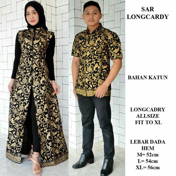 Jual Sarimbit Batik Longcardi Baju Couple Keluarga Modern Batik Couple Kab Blitar Gudang197 Fashion Tokopedia