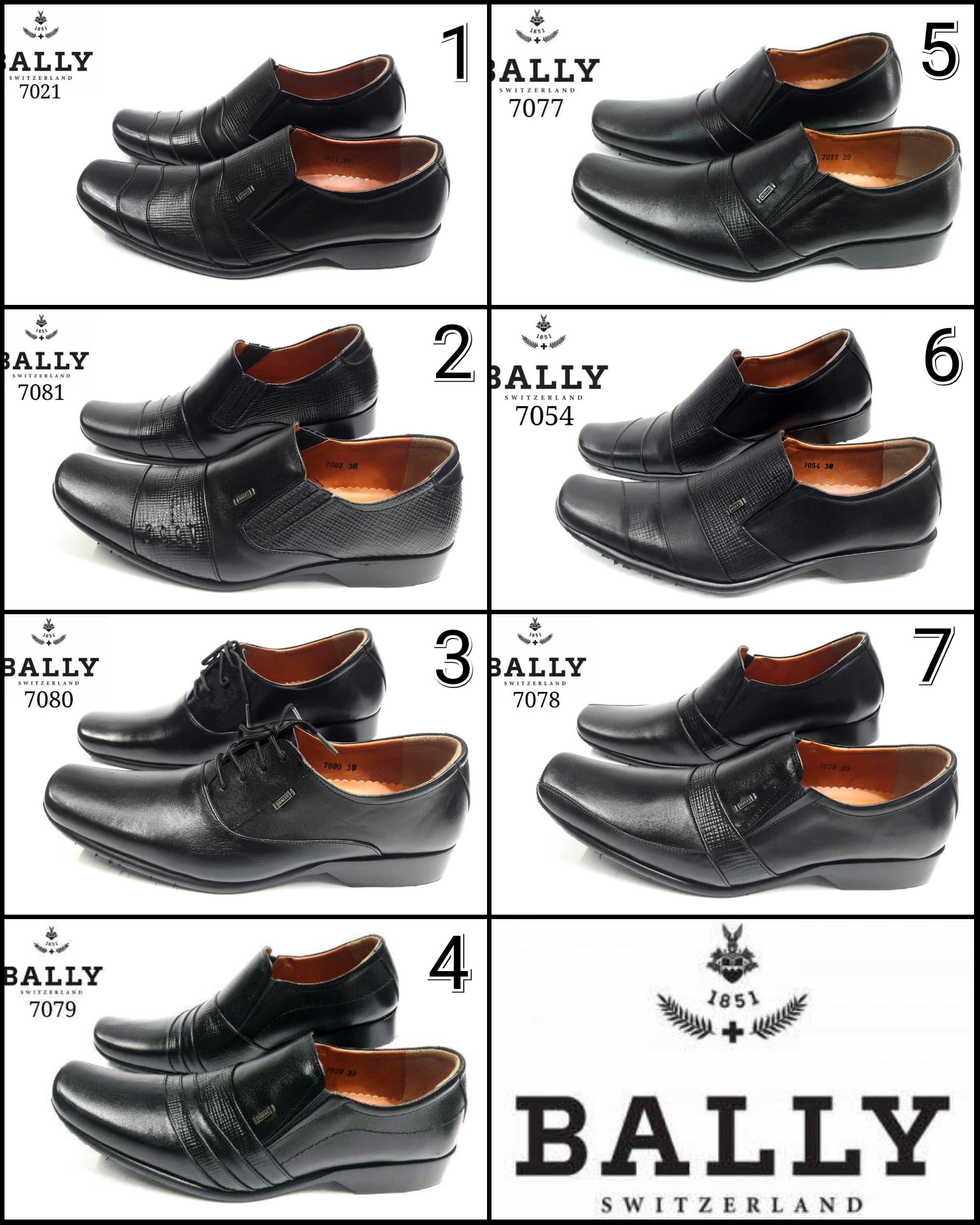 PENAWARAN Sepatu Bally Mix 1 Pantofel Pria Kulit Asli Formal Kerja Kantor 970597edde