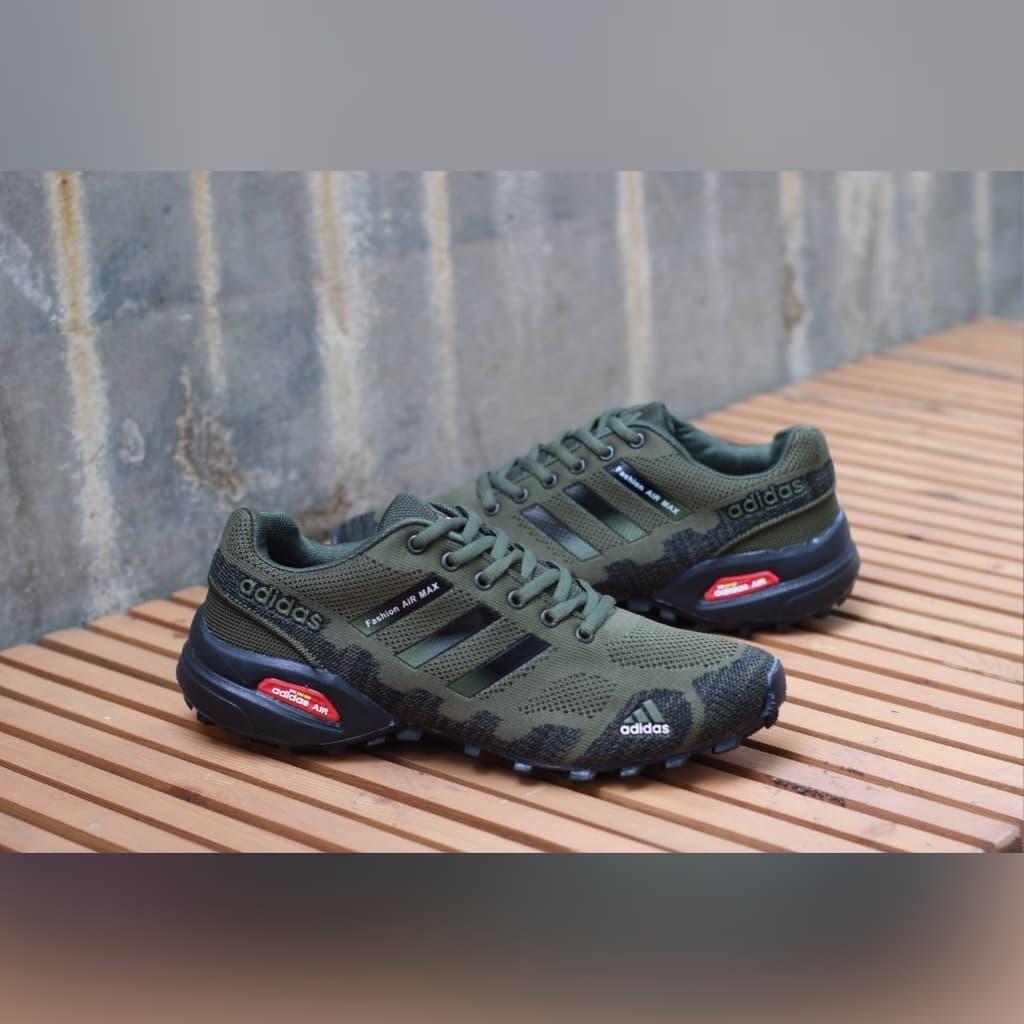 finest selection 4167a e0719 Jual Sepatu Adidas Fashion Air Max Tracking Green Sepatu ...