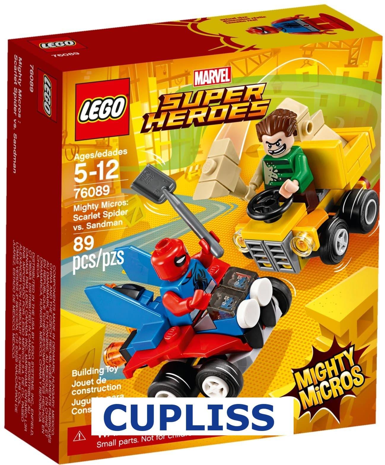 MURAH LEGO Superheroes 76089 Mighty Micros  Scarlet Spider vs. Sandman 2a0db1f0e8