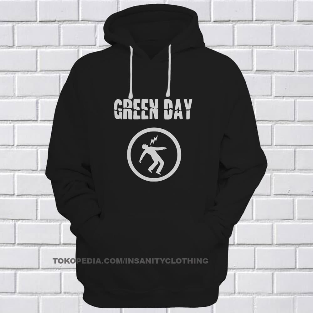 MURAH SWEATER HOODIE JUMPER BAND GREEN DAY JAKET BAND GREENDAY 09 83f904778d