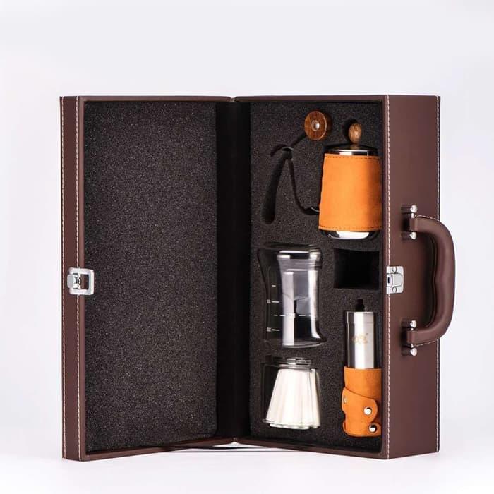 DISKON Diguo Coffee Maker Set - Brown 77f8ef0f96