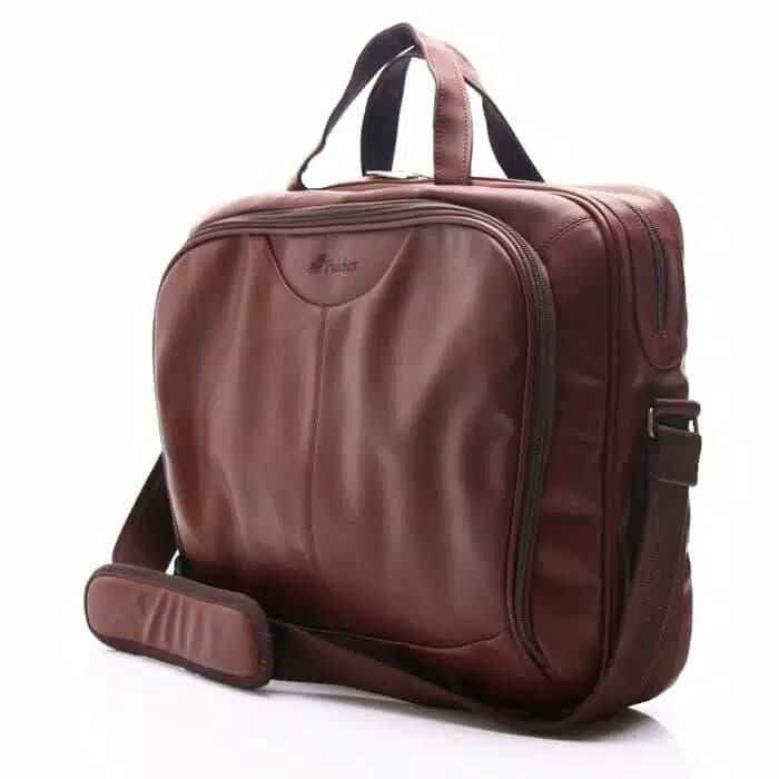 DISKON Briefcase Pulcher tas laptop untuk ke kantor 50b509c6e7