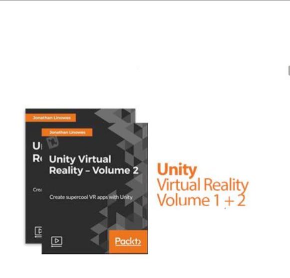Jual Tutorial Membuat virtual reality dengan Unity vulume 1 & 2 -  DaVidiVidiShop | Tokopedia