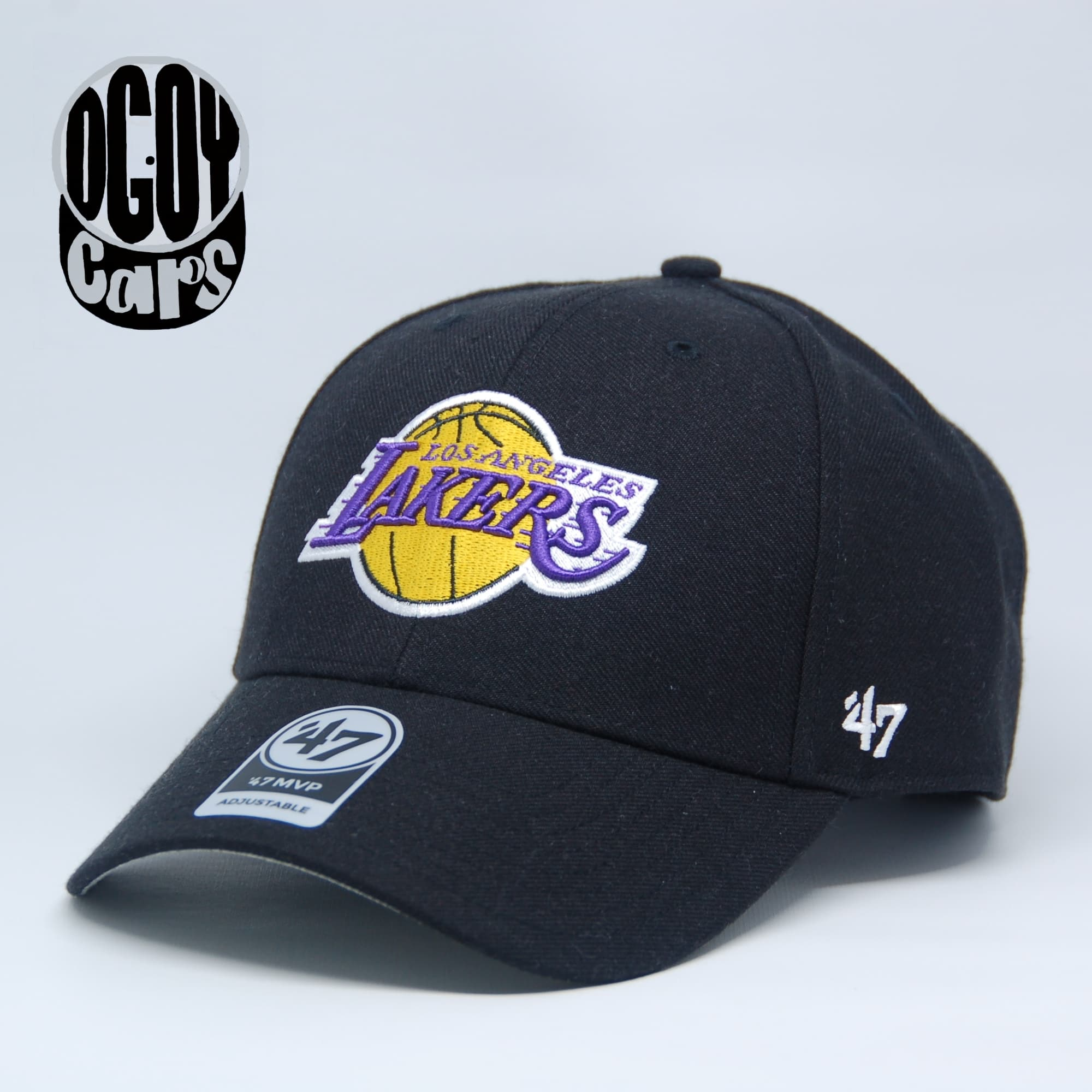 Jual Authentic Los Angeles Lakers '47 brand MVP Curve cap