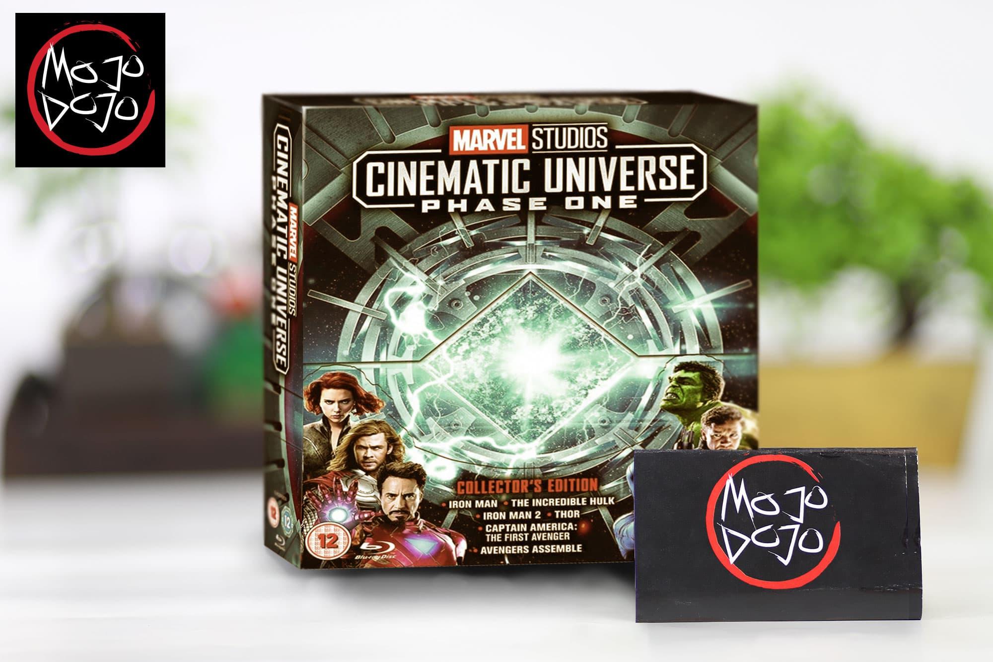 Jual Marvel Cinematic Universe Blue Ray Box Set Phase 3
